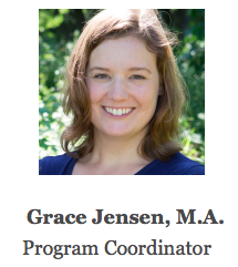 Grace Jensen, Program Coordinator